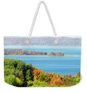 Colored Peninsula  Weekender Tote Bag