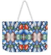 Colored Rocks Design Weekender Tote Bag