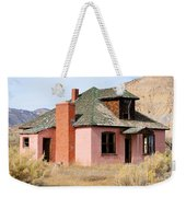 Colorful Abandoned Home In Dying Farm Town Weekender Tote Bag