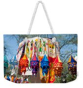 Colorful Banners At Surajkund Mela Weekender Tote Bag