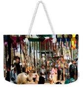 Colorful Beads At The Surajkund Mela Weekender Tote Bag