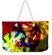 Colorful Blade Weekender Tote Bag