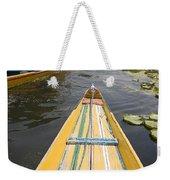 Colorful Boats On Dal Lake Dal Lake Weekender Tote Bag