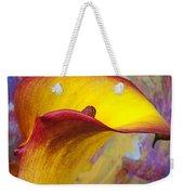 Colorful Calla Lily Weekender Tote Bag