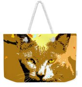 Colorful Cat Weekender Tote Bag