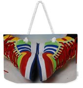 Colorful Clown Shoes Weekender Tote Bag