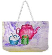 Colorful Coffee Weekender Tote Bag