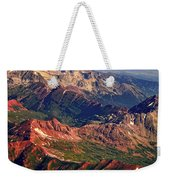 Colorful Colorado Rocky Mountains Planet Art Weekender Tote Bag by James BO  Insogna