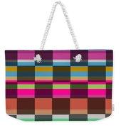 Colorful Cubes Weekender Tote Bag