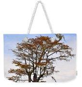 Colorful Cypress Weekender Tote Bag
