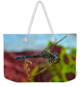 Colorful Dragon Fly Weekender Tote Bag
