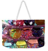 Colorful Fish Bowls Weekender Tote Bag
