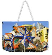 Colorful Flowers Weekender Tote Bag