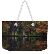 Colorful Forest Weekender Tote Bag