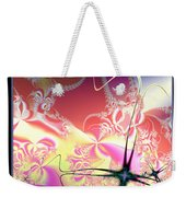 Colorful Frost Fractal 126 Weekender Tote Bag