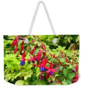 Colorful Fuchsia Weekender Tote Bag
