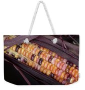 Colorful Indian Corn Weekender Tote Bag