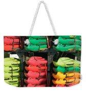 Colorful Kayaks Weekender Tote Bag