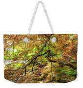 Colorful Maple Leaves Weekender Tote Bag