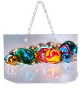 Colorful Marbles Weekender Tote Bag