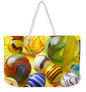 Colorful Marbles Two Weekender Tote Bag
