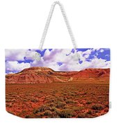 Colorful Mesas At Fossil Butte Nm Butte Weekender Tote Bag
