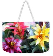 Colorful Mixed Bromeliads Weekender Tote Bag