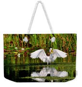 Colorful Morning At The Wetlands Weekender Tote Bag