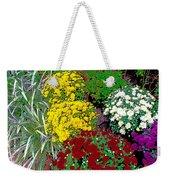 Colorful Mums Photo Art Weekender Tote Bag