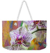 Colorful Orchids Weekender Tote Bag