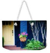 Colorful Porch Weekender Tote Bag