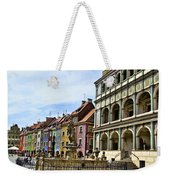 Colorful Posnan Weekender Tote Bag