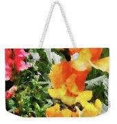 Colorful Snapdragons Weekender Tote Bag