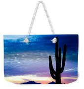 Colorful Southwest Desert Sunrise Weekender Tote Bag