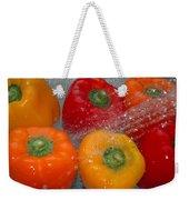 Colorful Splash Weekender Tote Bag