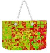 Colorful Squares II Weekender Tote Bag