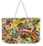 Colorful Sugar Weekender Tote Bag