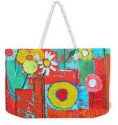 Colorful Summer  Weekender Tote Bag
