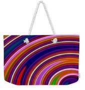 Colorful Swirls Weekender Tote Bag