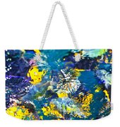 Colorful Tropical Fish Weekender Tote Bag by Elena Elisseeva