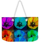 Colorful Tulip Collage Weekender Tote Bag by James BO  Insogna