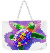 Colorful Turtle Weekender Tote Bag