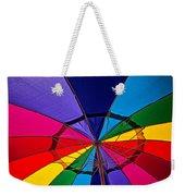 Colorful Umbrella Weekender Tote Bag