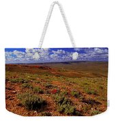 Colorful Valley From Fossil Lake Trailsil Bu Weekender Tote Bag