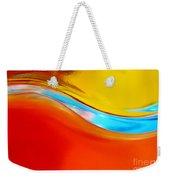 Colorful Wave Weekender Tote Bag