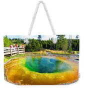 Colorful Yellowstone Weekender Tote Bag