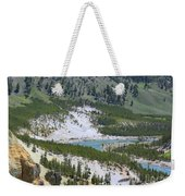 Colorful Yellowstone Valley Weekender Tote Bag
