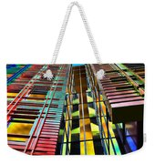 Colors In The City With Clouds Weekender Tote Bag