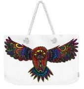 Coloured Owl Weekender Tote Bag