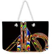 Colourful Geometry Weekender Tote Bag
